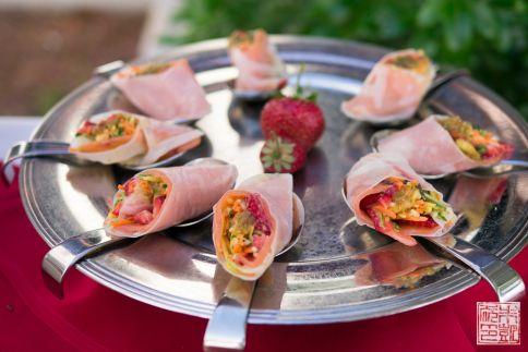 chaminade strawberry sushi