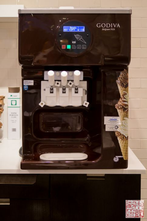 Godiva soft serve machine
