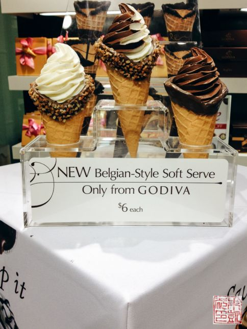 Godiva soft serve