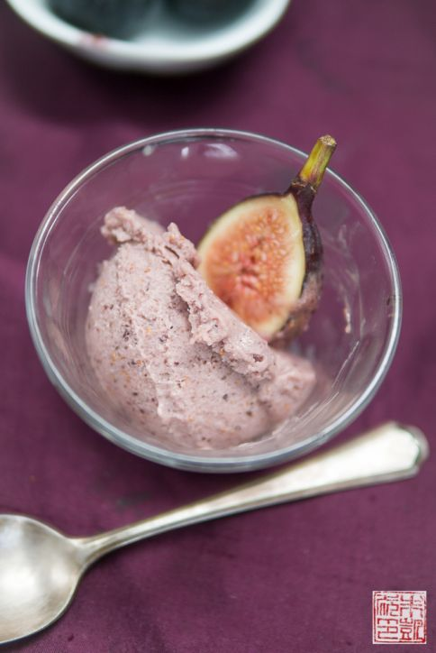 Roasted Fig Gelato bowl