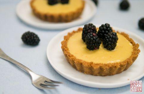blackberry mango tarts