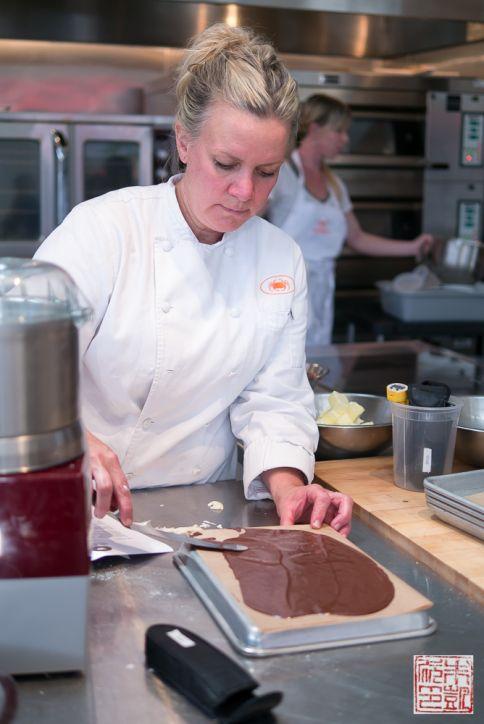 sf cooking school macaron plue chocolate