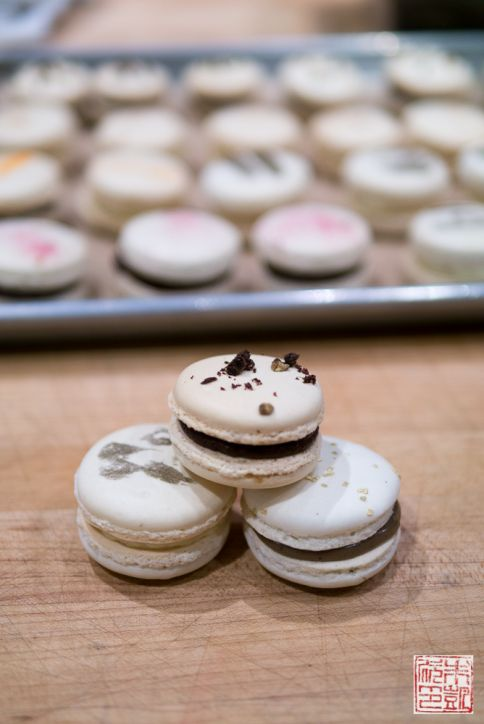 sf cooking school macarons chocolate
