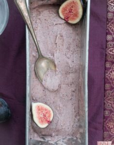 Eat Dessert First Month: Roasted Fig Gelato with Balsamic Caramel