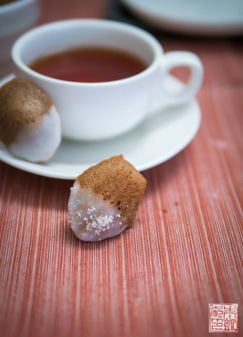 Mini Almond Madeleines teacup