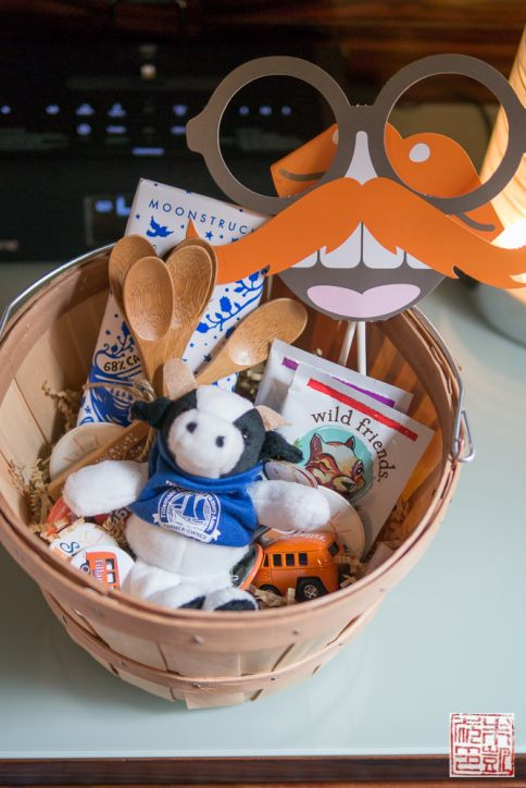 Tillamook welcome basket
