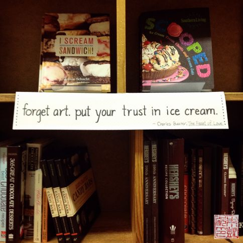 powells ice cream books