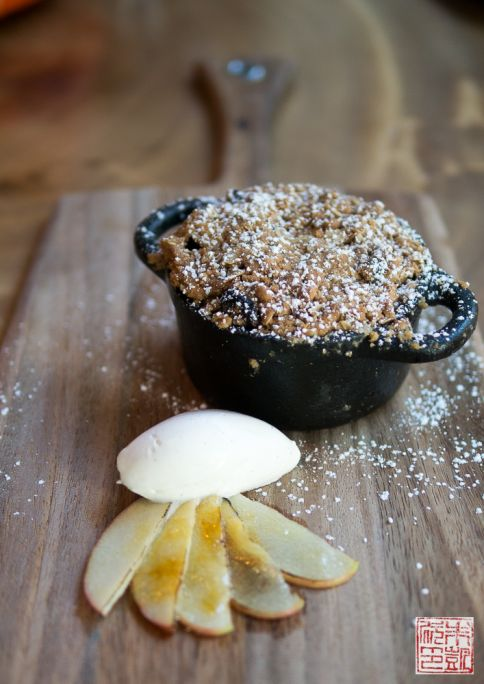 bluestem apple crisp