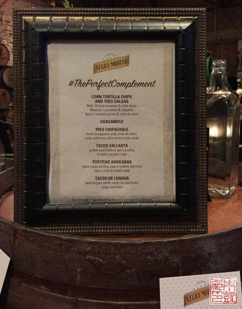 tres restaurant menu