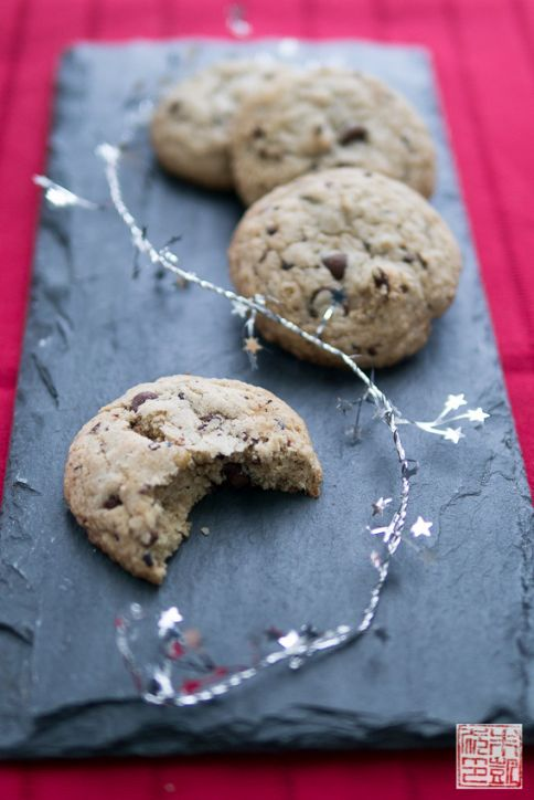 chocolate chip GF cookies