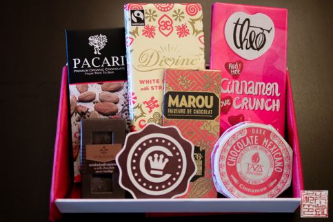 Chococurb valentine box