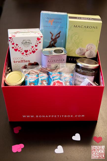 Bon Appetit box contents