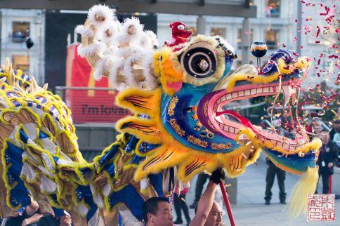 CNY parade dragon