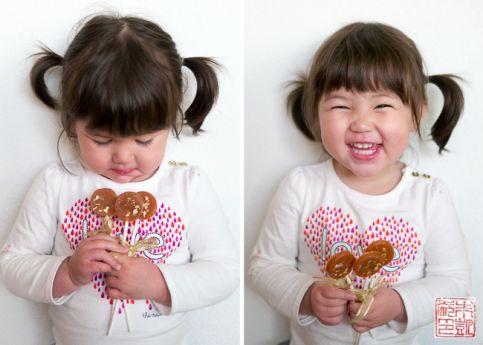 Caramel Fleur de Sel Lollipops Isabelle 3