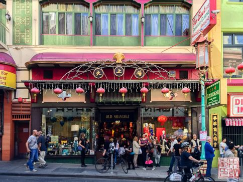 Chinatown Old Shanghai shop