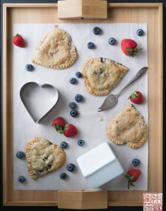 {Cookbook Review} Mini Berry Hand Pies and Baking With Kids