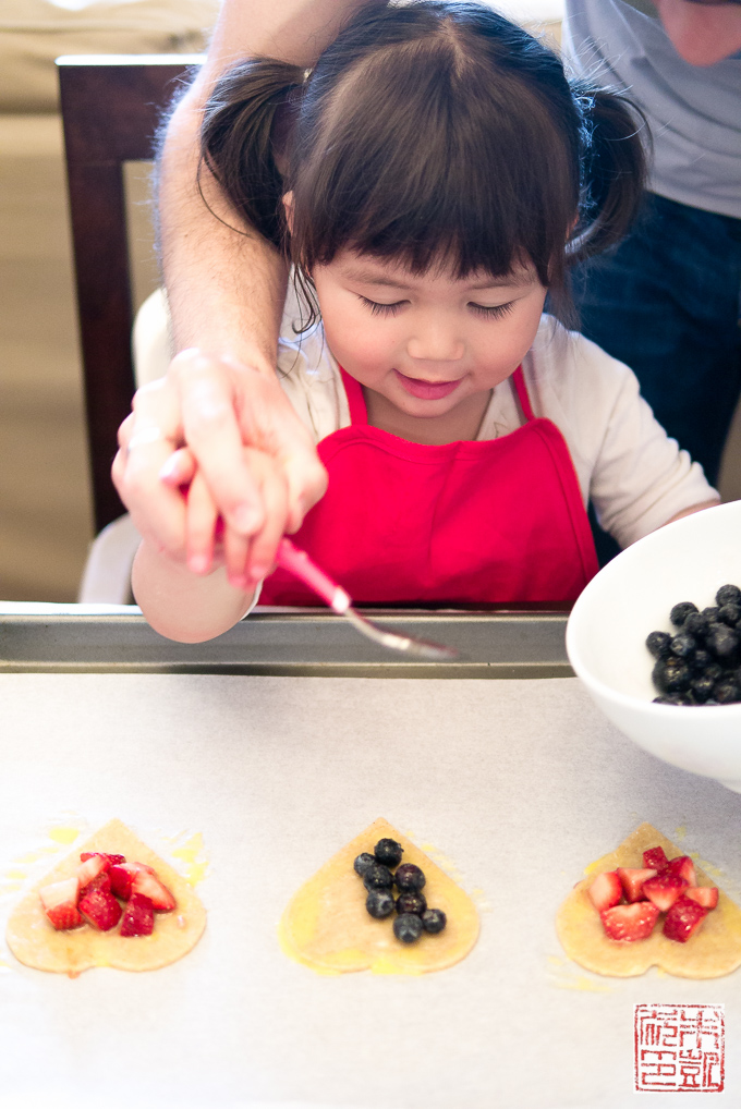 Making Berry Hand Pies with Kids
