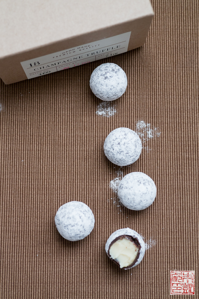 Nuubia Champagne Truffles