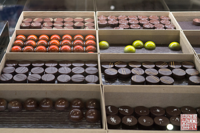 Nuubia Chocolate Display
