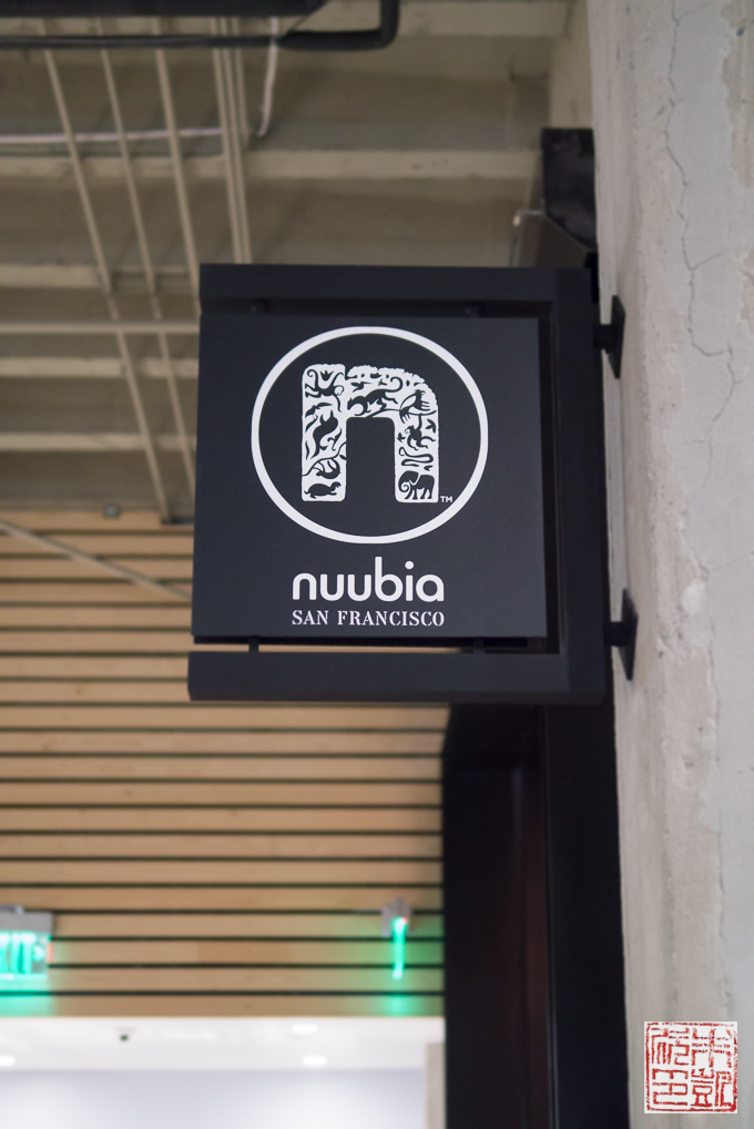 Nuubia Store Sign
