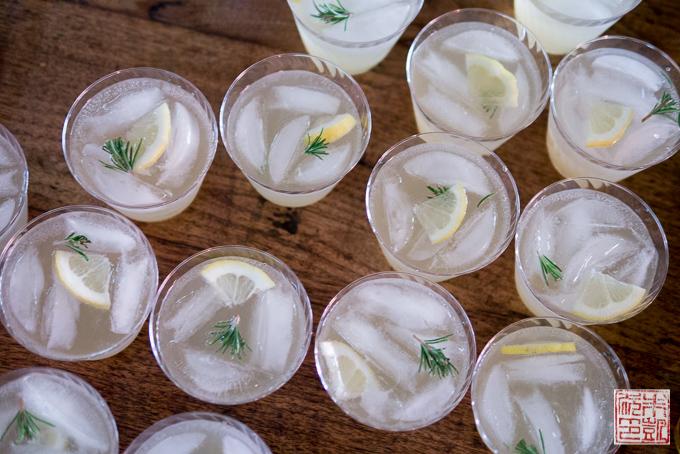 Rosemary Lemon Spritzer