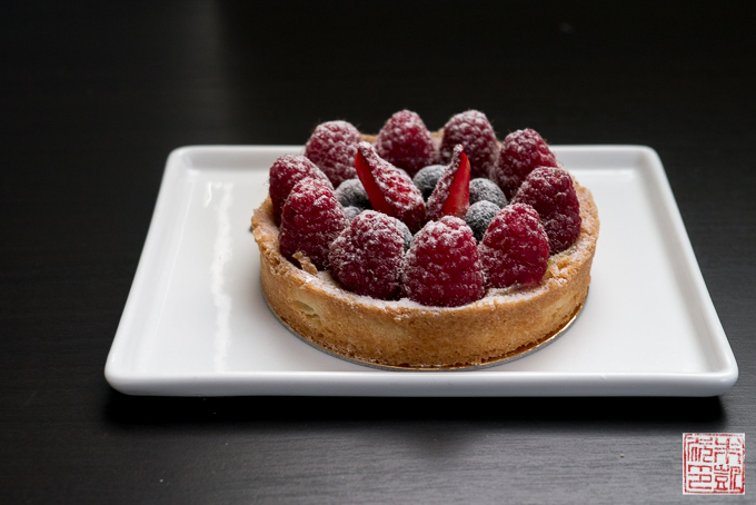 Chantal Guillon fruit tart