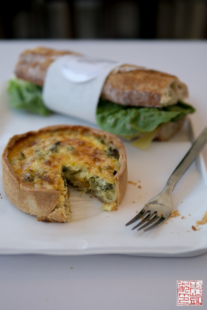 Chantal Guillon quiche