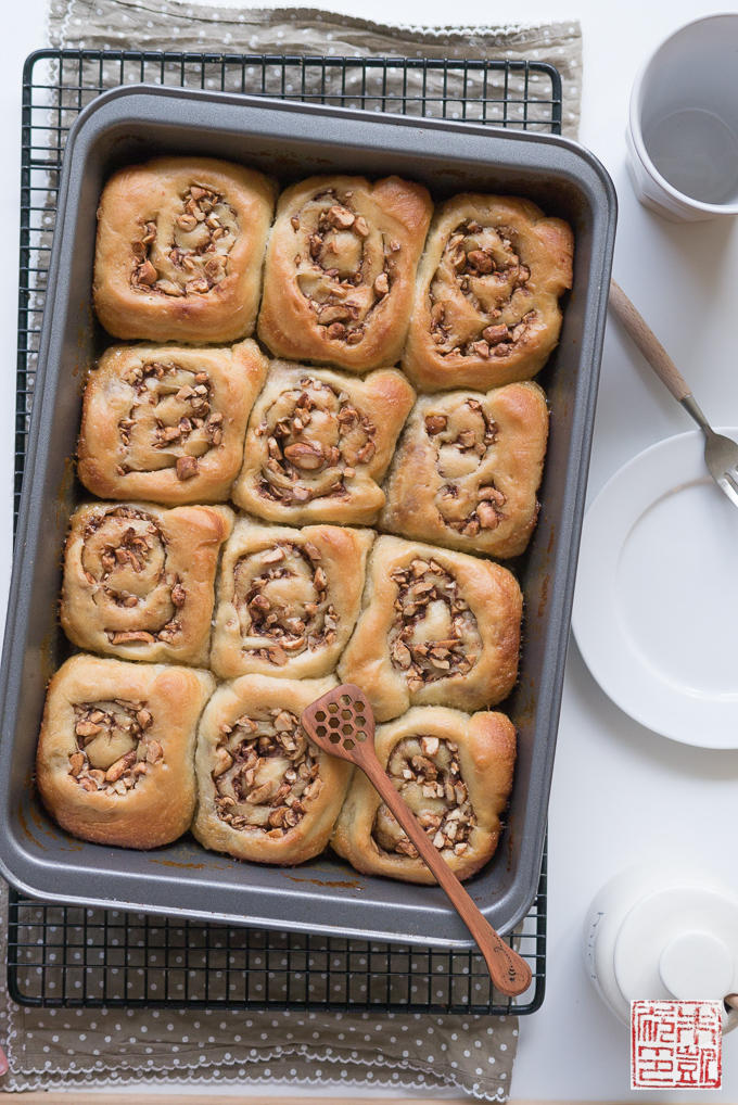 Honey Cashew Buns