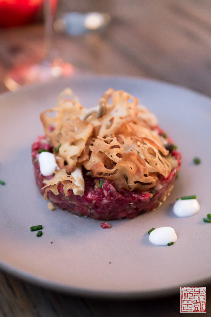 Dirty Habit beef tartare