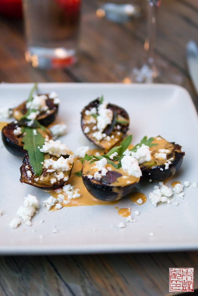 Dirty Habit figs with feta