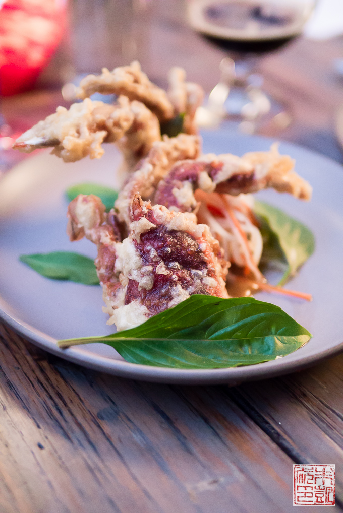 Dirty Habit soft shell crab