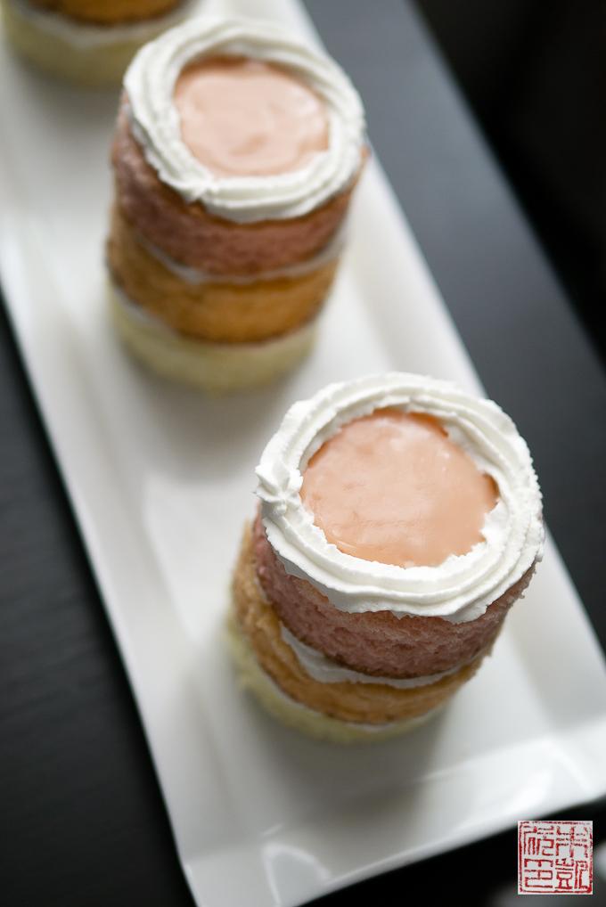 Guava Mango Passionfruit Mini Cakes