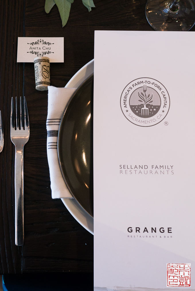 Sacramento Farm2Fork Place Setting