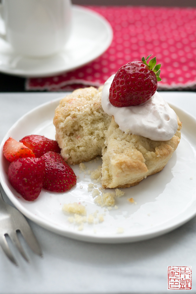 Strawberry Shortcake rustic