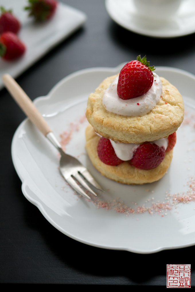 Strawberry Shortcake with self rising flour