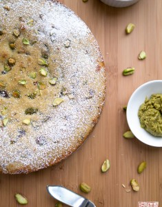 {Cookbook Review}: Sugar and Spice and a Pistachio and Chocolate Cake