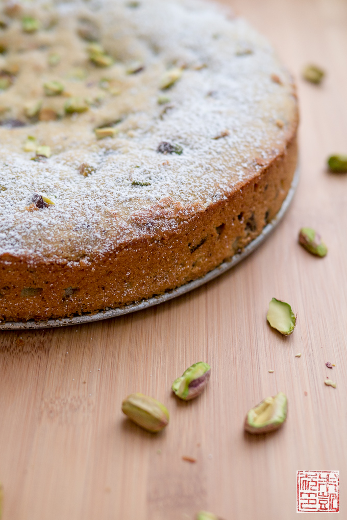 Pistachio Chocolate Cake