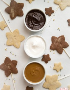 Farewell to 2015: Sugar and Spice Cookie with Dipping Bar