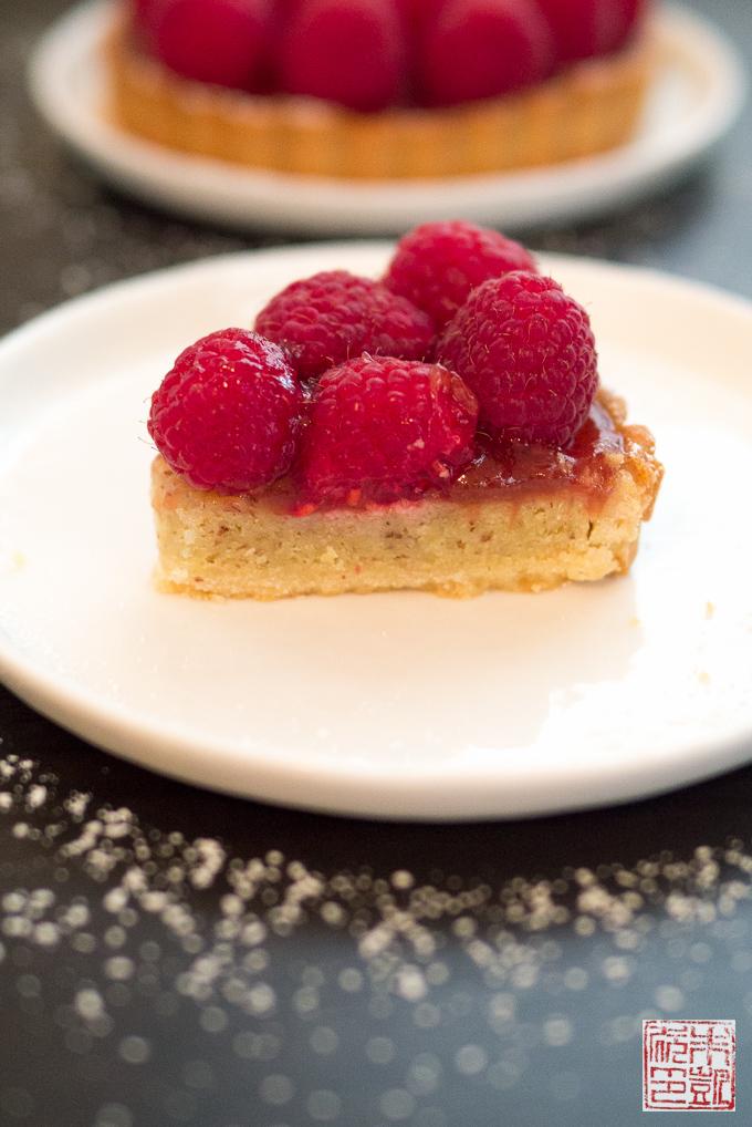 PastryNow Raspberry Tart Slice