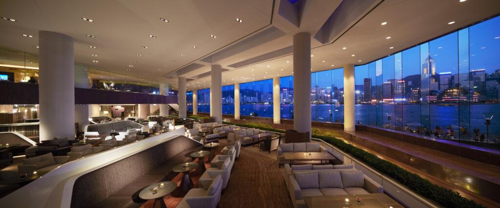 Courtesy of InterContinental Hong Kong Lobby Lounge