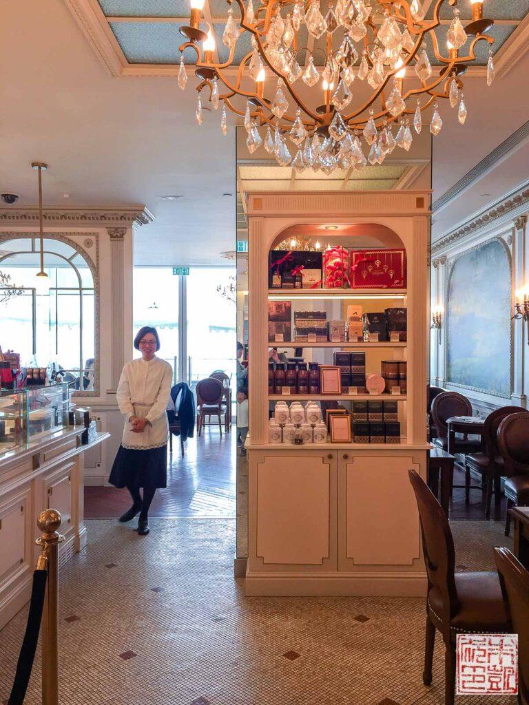 Angelina Cafe Interior