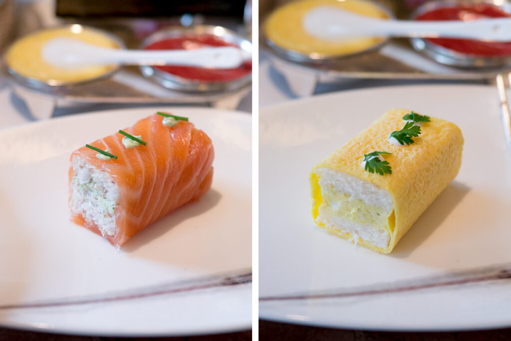 Mandarin Oriental sandwiches