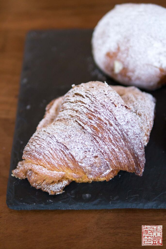 Hearth Coffee Almond Orange Croissant