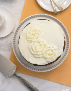 Alice Medrich's Carrot Cake with Cream Cheese Frosting