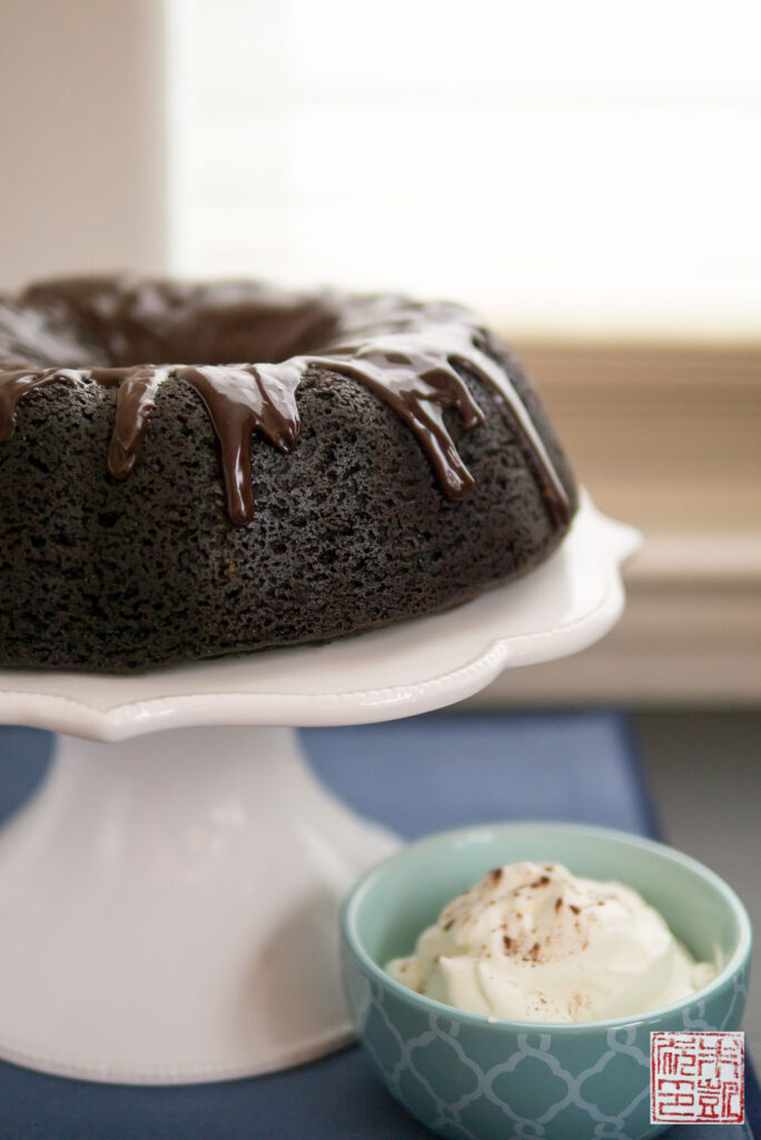 Theo Chocolate Stout Cake
