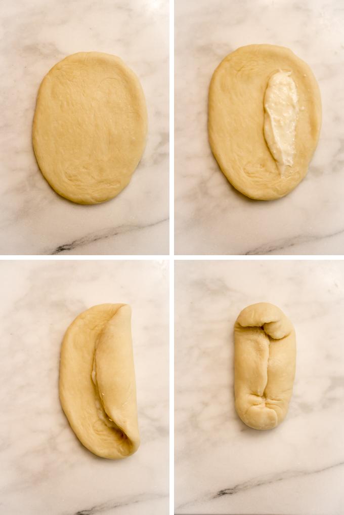 Cocktail Bun Process