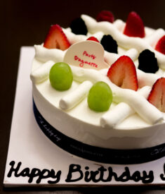 Paris Baguette Cream Cake