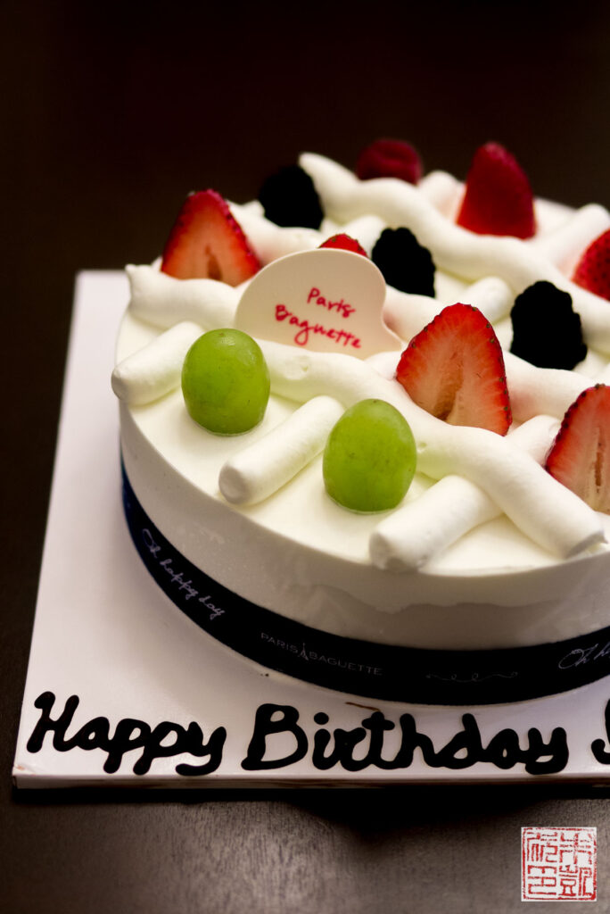 Paris Baguette Cream Cake