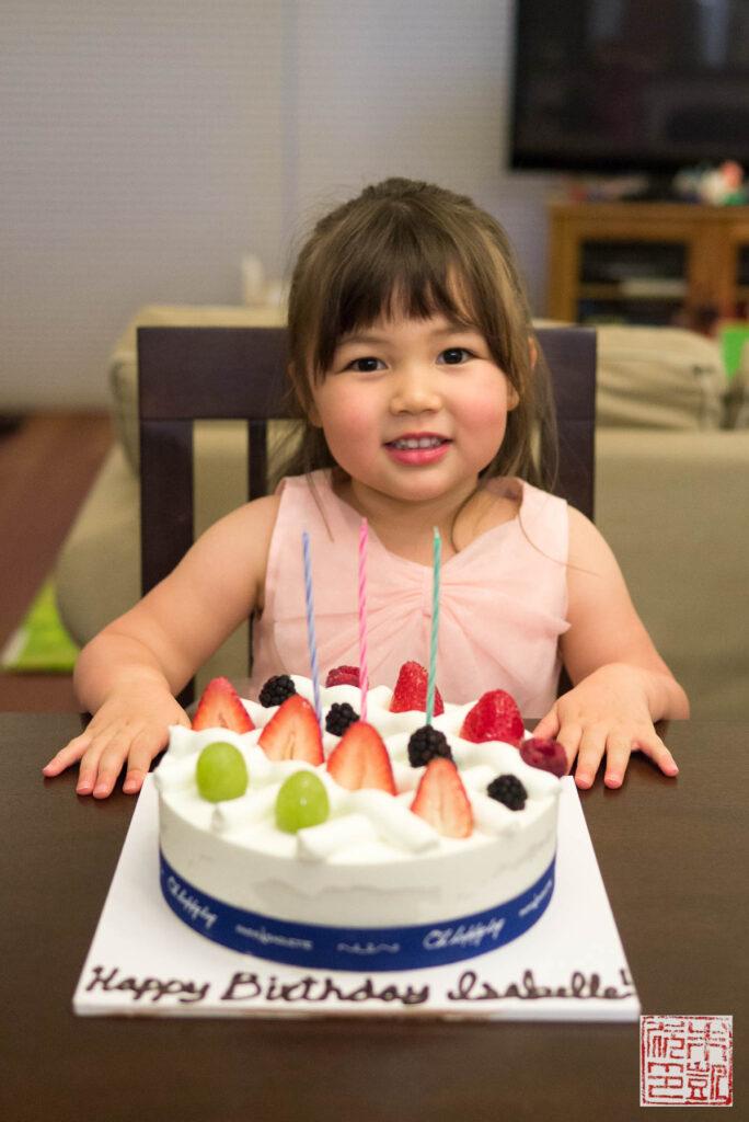 Paris Baguette Cream Cake Birthday