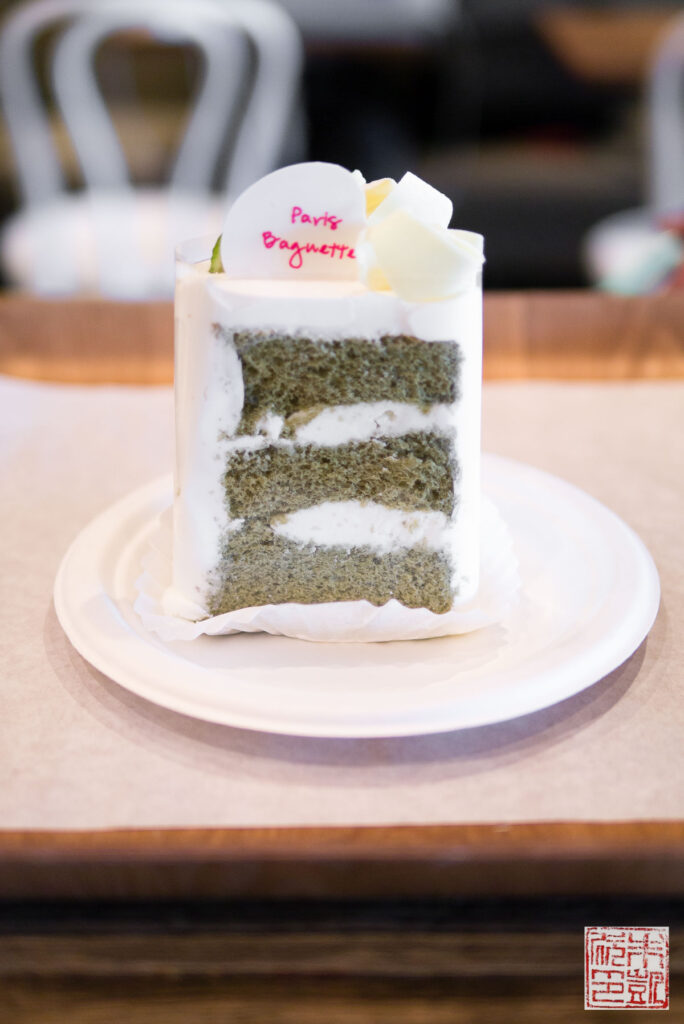 Paris Baguette Matcha Cake